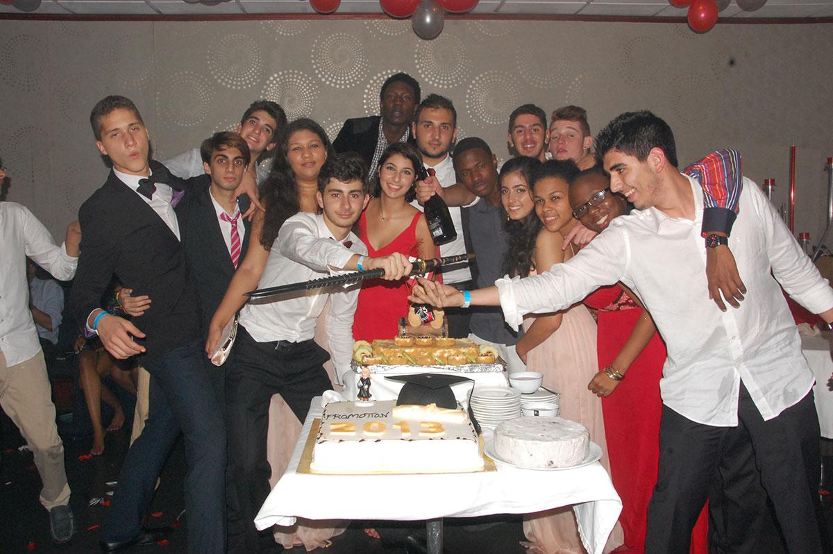 Bonzai Graduation Party